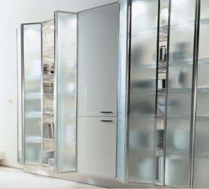glass kitchen doors