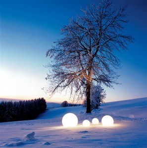 outdoor lighting globes