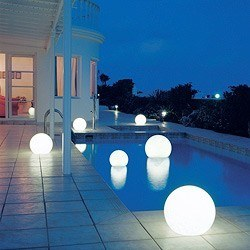 outdoor lighting pool