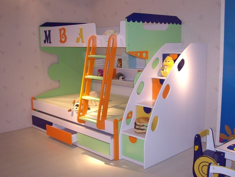 Bunk beds for kids safe stylish space savers and lots of fun