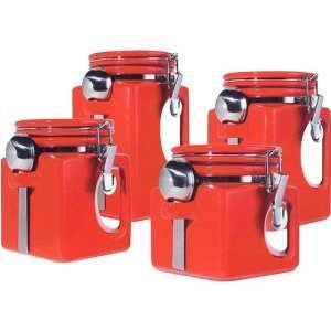 kitchen cannister set