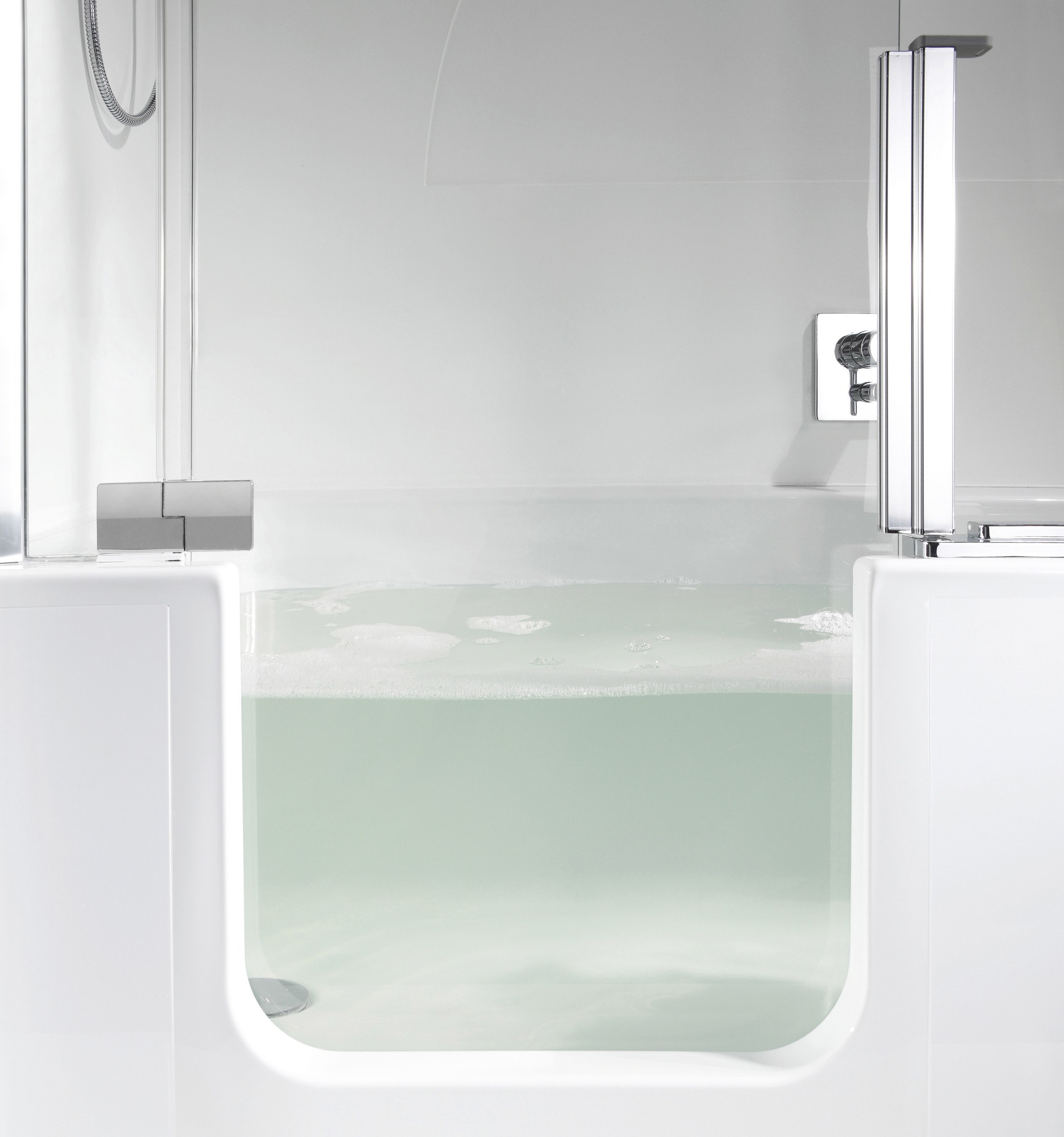 The evolution of the modern bath tub and shower combo for Bathtub in bathroom