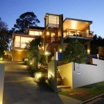 outdoor house lighting